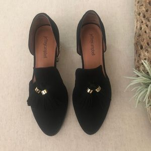 Jeffrey Campbell Civil Tassel Loafers sz 7